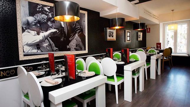 Local de Burgos del restaurante italiano