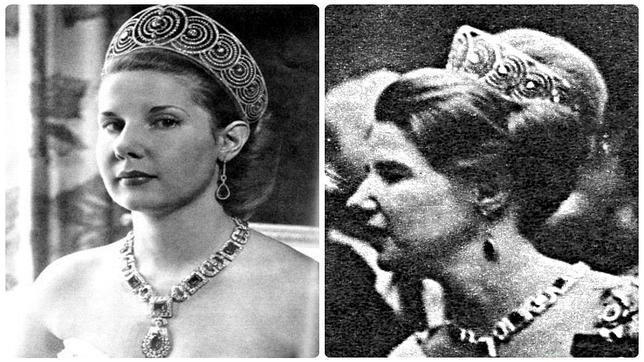 LA Duquesa de Alba con la tiara