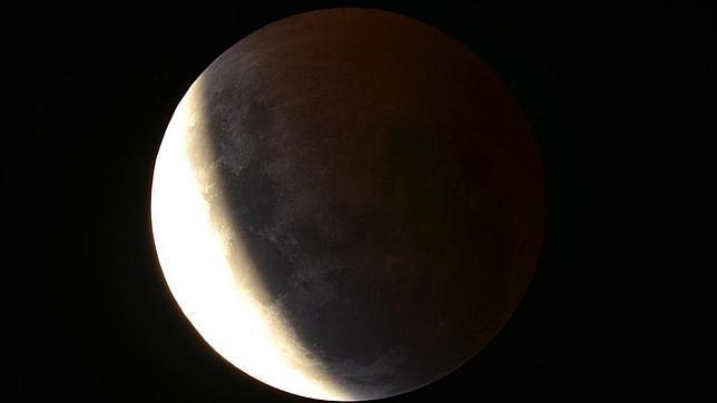 Captura del eclipse desde Melbourne, Australia