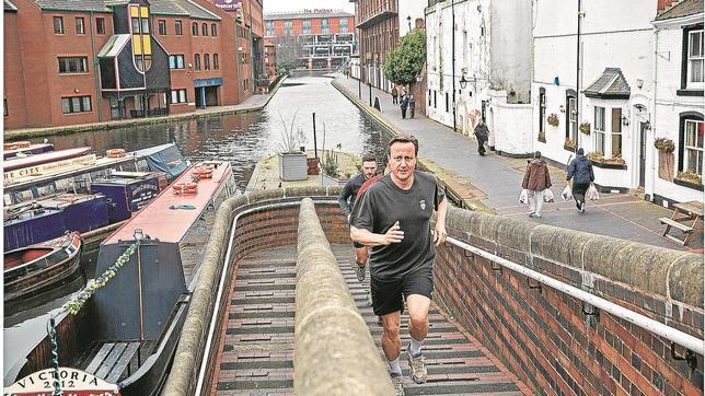 David Cameron corre diariamente cinco kilómetros