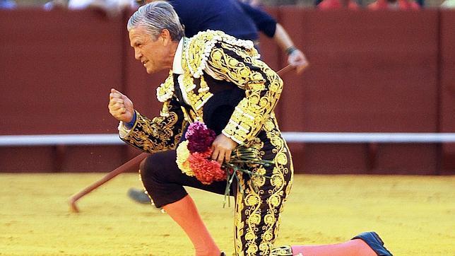 Feliz regreso y despedida de Espartaco en Sevilla