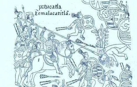 La milagrosa batalla de Otumba: 100.000 aztecas contra 400 españoles y Santiago Apóstol