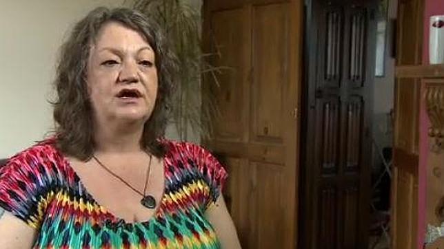 Louise Palmer durante su entrevista en la BBC