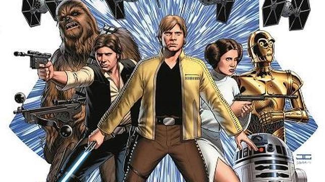 Imagen de la nueva serie de «Star Wars» en cómic