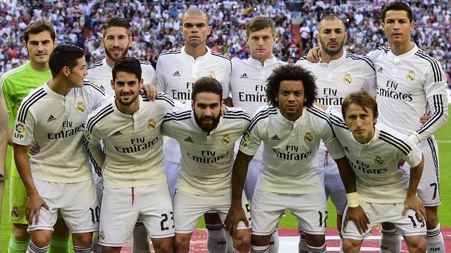 afa0d1e0fc8e8 Real Madrid James e Isco en un once de gala que solo acusa la ausencia de  Modric