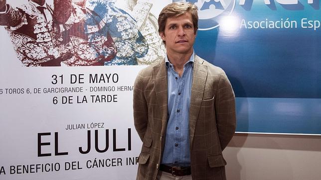 El Juli: «Torear a beneficio de los niños con cáncer es lo más grande que puedo hacer»
