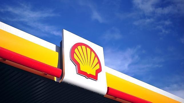 Logo de Shell en una gasolinera de Londres
