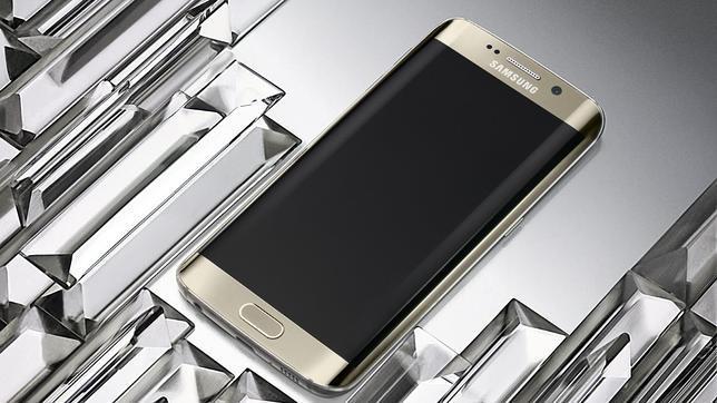 Detalle del nuevo «smartphone» Samsung Galaxy S6