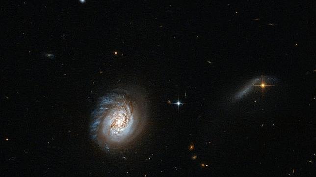 Hallan por primera vez componentes esenciales para la vida junto a estrella