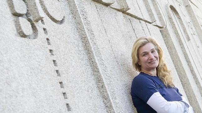 La grafóloga Irene López Assor, en ABC