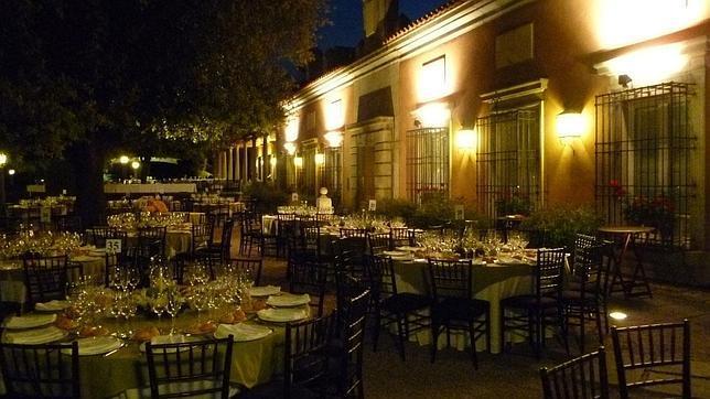 Diez fincas de ensue o para celebrar un banquete en madrid - Casa monico bodas ...