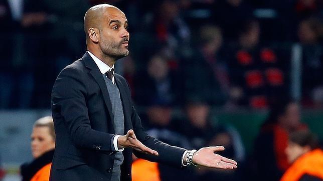 Pep Guardiola, técnico del Bayern Múnich
