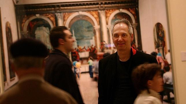Thomas Struth durante su exposición en el Museo del Prado, en 2007