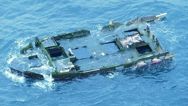 Un barco destruido en el tsunami de Japón aparece en Oregon con «pasajeros» a bordo