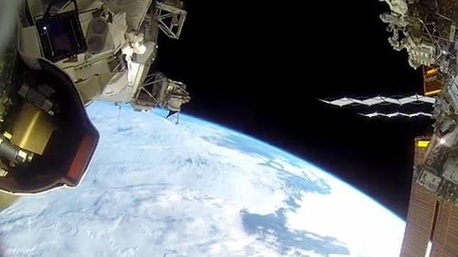 Así es un paseo espacial visto con una cámara GoPro