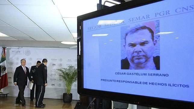 César Gastelum Serrano, uno de los narcotraficantes más buscados por EE.UU. s y considerado uno de los capos del cártel de Sinaloa.