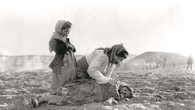 Muchos armenios murieron víctimas del hambre y las precarias condiciones de vida de camino al exilio
