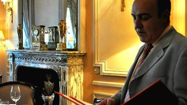 Mariano Toledo, el antiguo primer maitre del Hotel Ritz