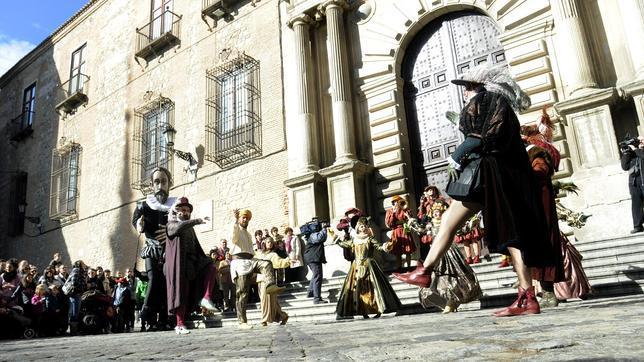 Representación teatral durante el Año Greco
