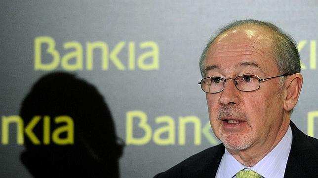 El expresidente del FMI y antiguo ministro de Economía, Rodrigo Rato