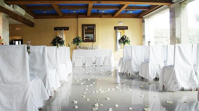Interior de un salón del Palacio