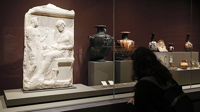 Piezas de la exposición sobre los tracios en el Louvre
