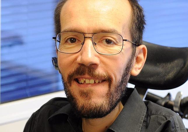 Pablo Echenique, el candidato del partido violeta a Las Cortes de Aragón