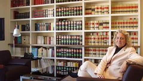 Imagen de archivo de la candidata del PP a las Cortes