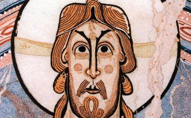 El Pantocrator o Maestro de de Taüll se exhibe en el Museo Nacional de Arte de Cataluña