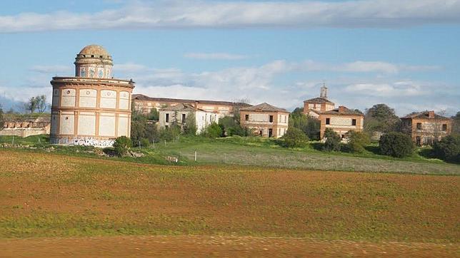 El poblado de Villaflores se encuentra actualmente abandonado