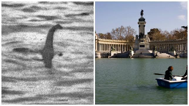 El espeluznante «monstruo» que apareció tras vaciar el estanque del Retiro