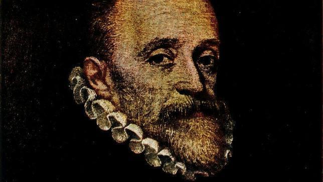 Supuesto retrato de Miguel de Cervantes atribuido a Juan de Jáuregui, de la colección del marqués de Casa Torres