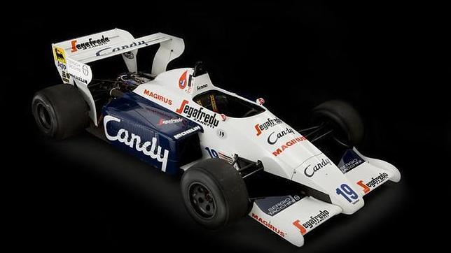 A la venta el histórico Toleman de Ayrton Senna