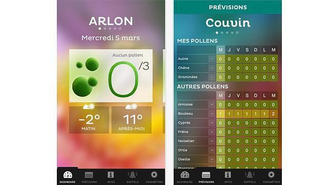 Doce aplicaciones para mantener a raya las temidas alergias primaverales
