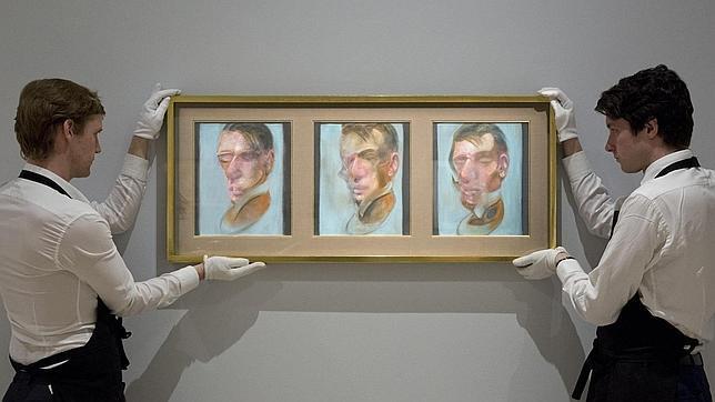 «Tres estudios para un autorretrato», de Francis Bacon