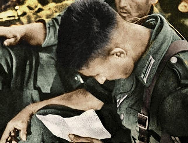 El lado más humano de los crueles soldados nazis