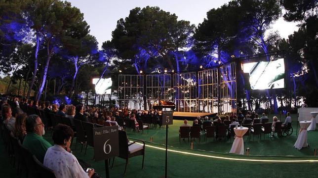 Imagen del escenario de Formentor Sunset Classics, en la costa mallorquina