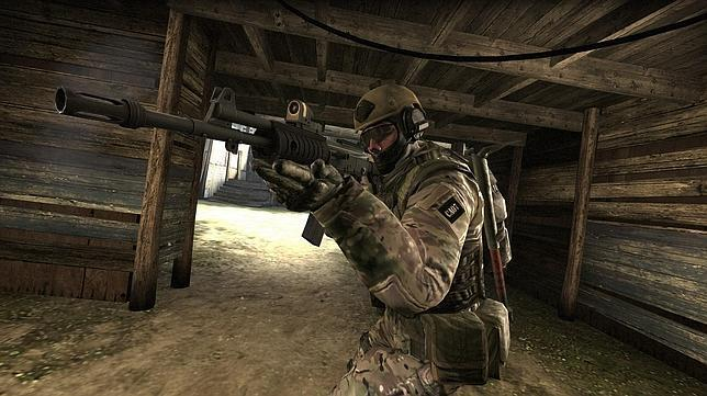 Captura de una secuencia de «Counter Strike: Global Offensive»