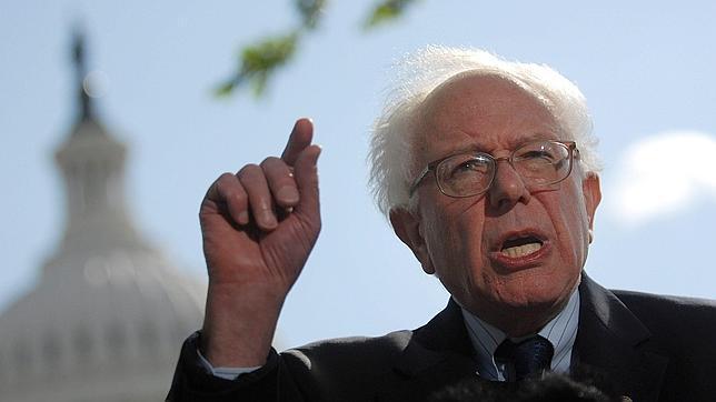 El senador independiente Bernie Sanders