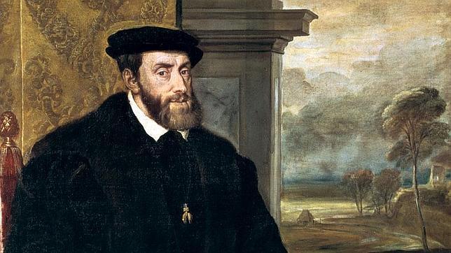 Retrato de Carlos I de España, por Tiziano