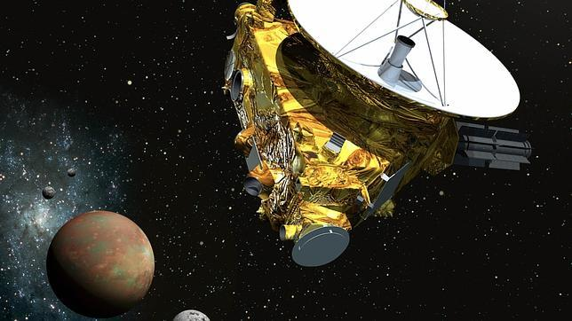 La nave New Horizons de la NASA atisba hielo polar en Plutón