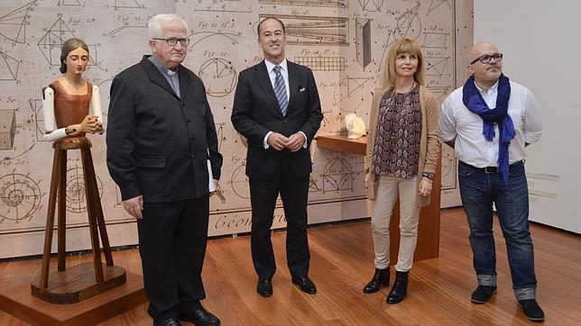 Presentación de la exposición en San Martín, Centro de Cultura Contemporánea