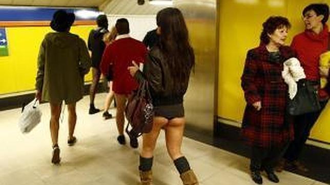 Revolución sexual en el Metro de Madrid