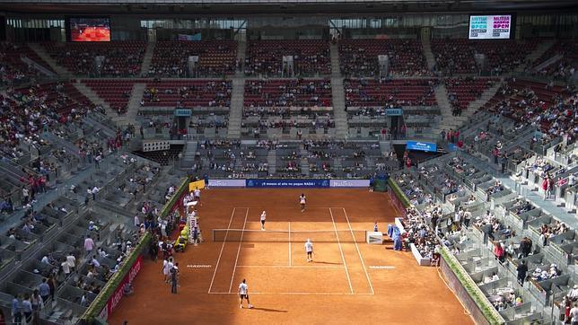 La caja m gica se abre para el mejor tenis for Fuera de pista madrid