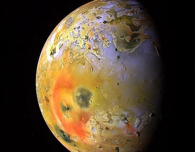 La luna joviana Io, en la que ahora se ha «descubierto» un nuevo lago de lava