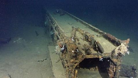 El increíble «submarino portaviones» japonés ideado para asolar Estados Unidos