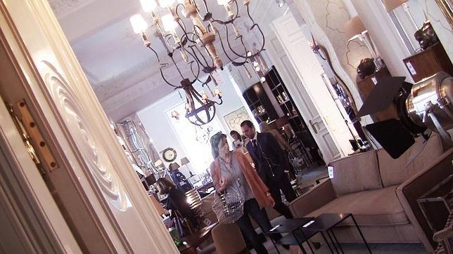 Mercadillo de muebles de lujo en un palacete de madrid for Registro bienes muebles madrid