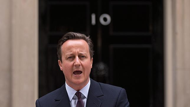 David Cameron, en Downing Street