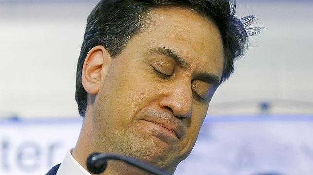 Miliband admite su fracaso