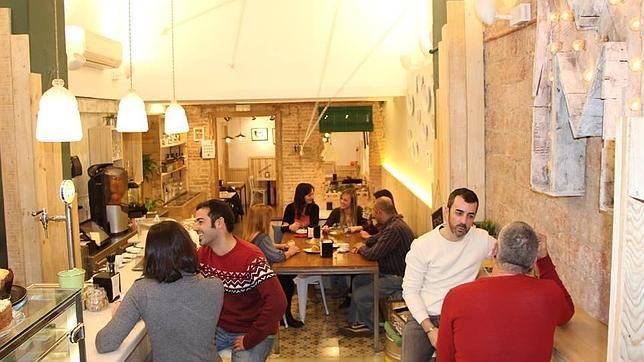 Interior del Moreneta Café